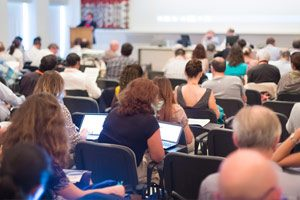 Christopher Combs lectures at Arizona State University